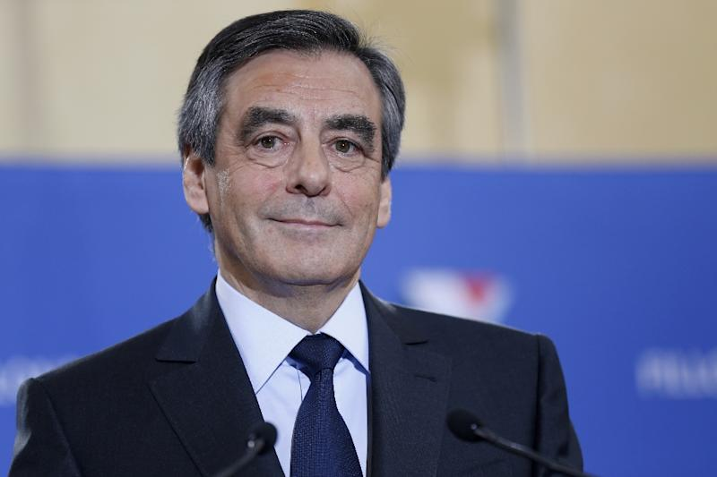 Fillon promises 'software change' for France in primaries' victory speech