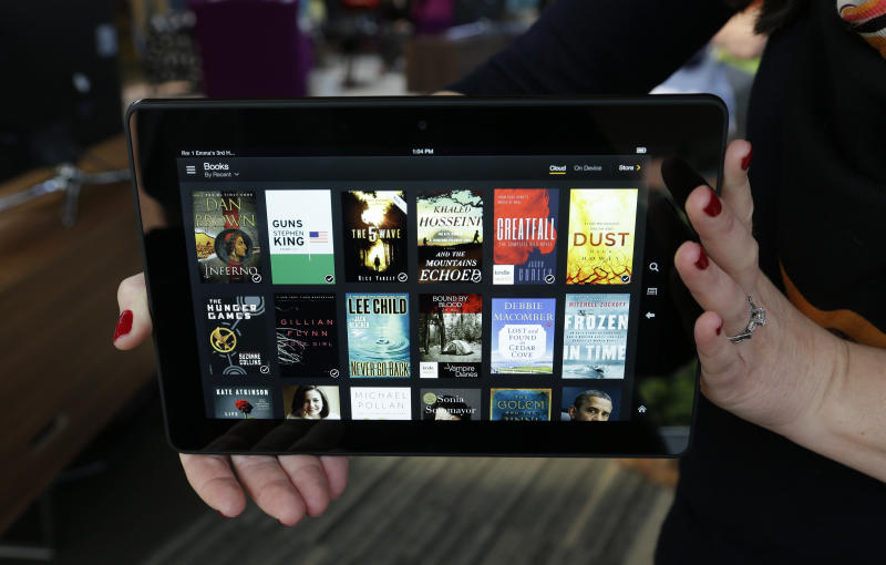 Review: Amazon's Kindle Fire HDX slimmer, sharper