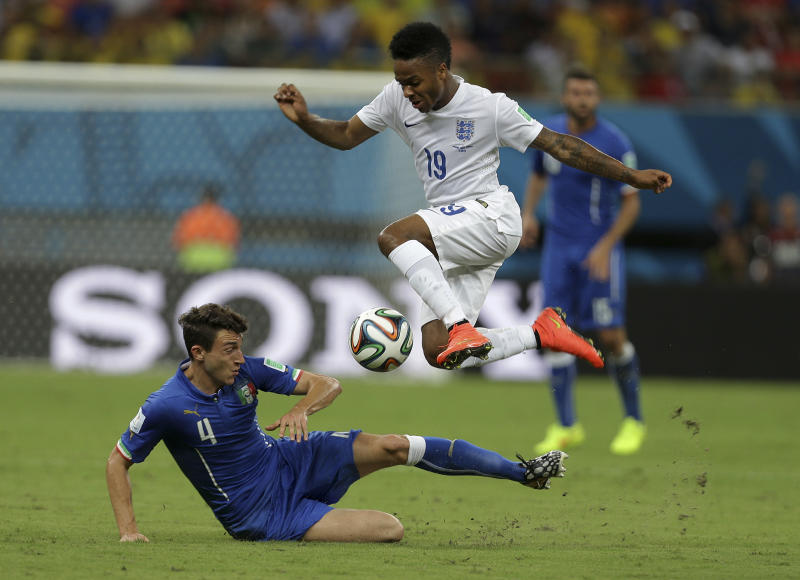Teenager Sterling gives England hope at World Cup