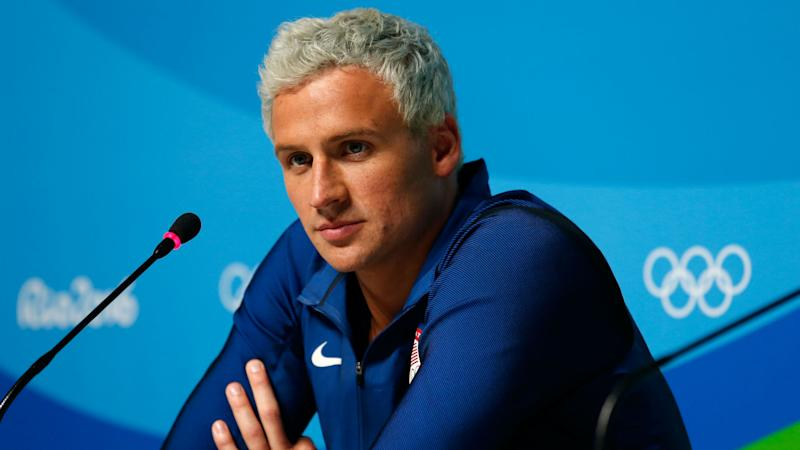 Olympics-Lochte apologises for behaviour in Rio