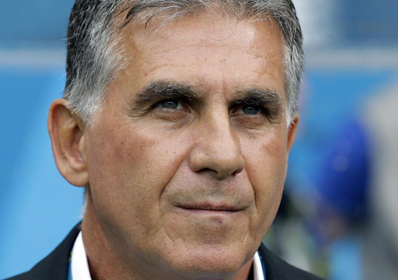 Queiroz quits as Iran coach after World Cup exit