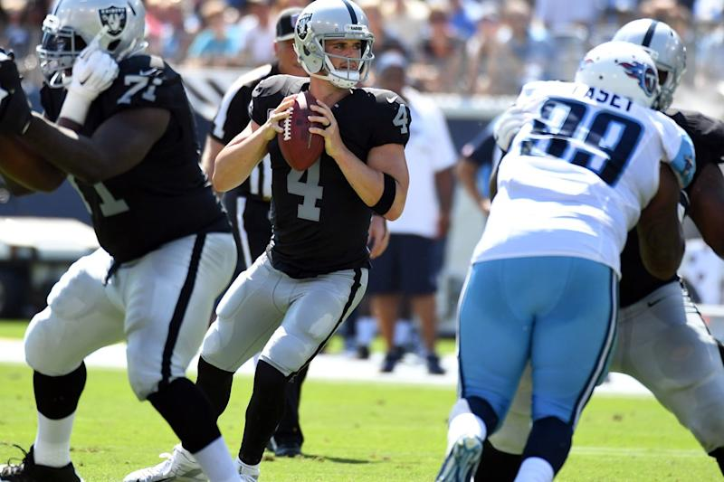 Raiders earn another road win at expense of erring Ravens