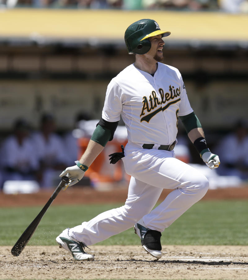 Athletics complete sweep of Angels with 6-3 win