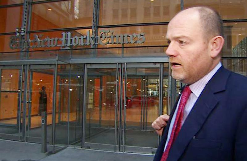 Thompson starts as NY Times CEO amid BBC scandal