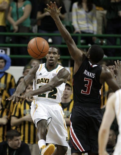 No. 9 Baylor beats Texas Tech 77-48 in home finale