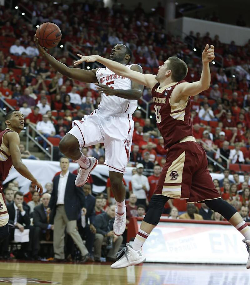 NC State beats Boston College 78-68