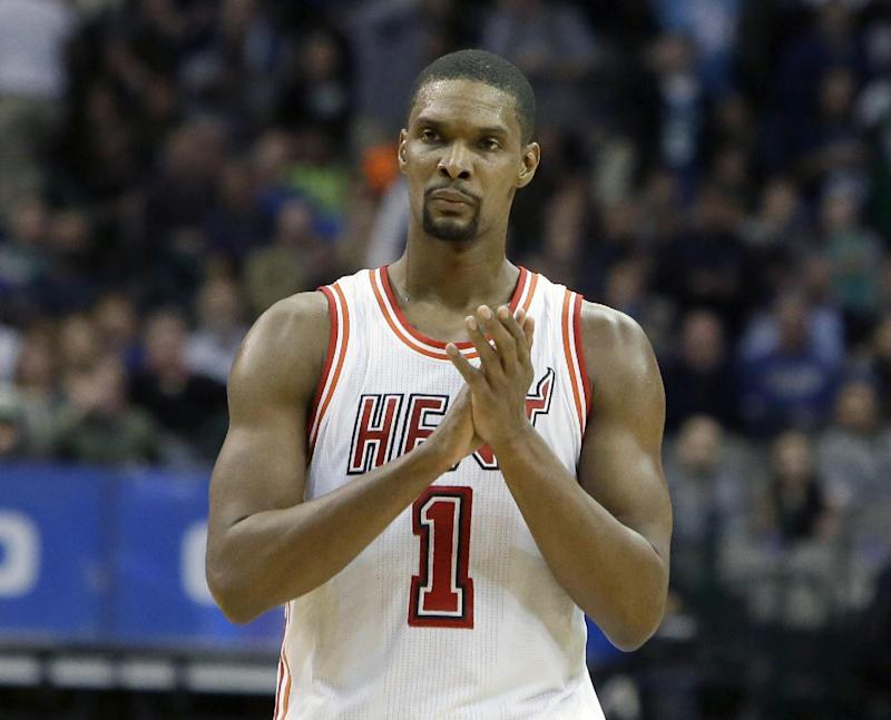 Chris Bosh talks being 'written off' after second blood clot diagnosis
