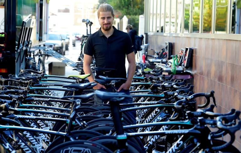 German team Bora-Hansgrohe's Slovak cyclist Peter Sagan, 26, had a stellar 2016, claiming three stages in the Tour De France before winning the world championship in Qatar in October