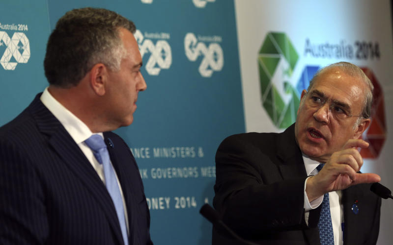 G-20 finance ministers to focus on global growth
