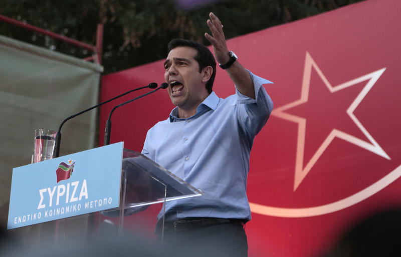 Greek coalition avoids collapse over TV shutdown