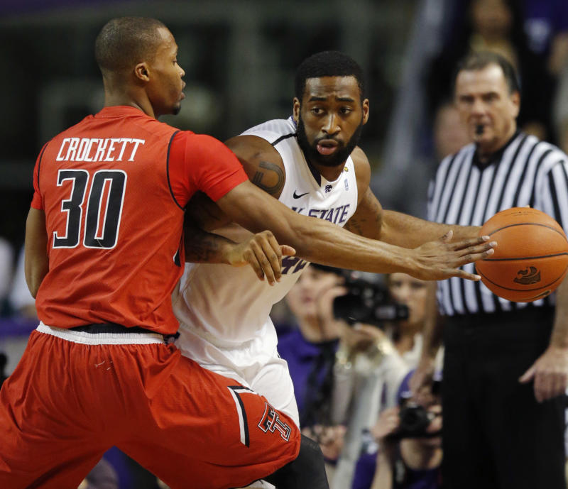 Spradling leads K-State win over Texas Tech, 66-58