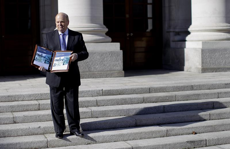 Irish unveil austerity budget, seek bailout exit