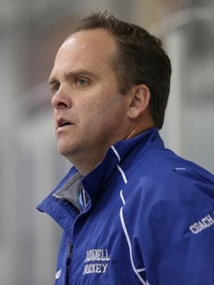High school hockey coach Flip Collins hands out free pizza to draw fans -- bishopoconnell.org