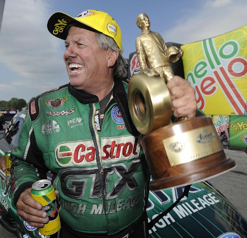 65-year-old John Force races to 140th NHRA victory