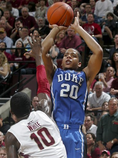 No. 5 Duke beats No. 15 Florida State 74-66