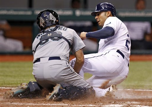 Rays rally to beat Mariners 4-3 in 14 innings