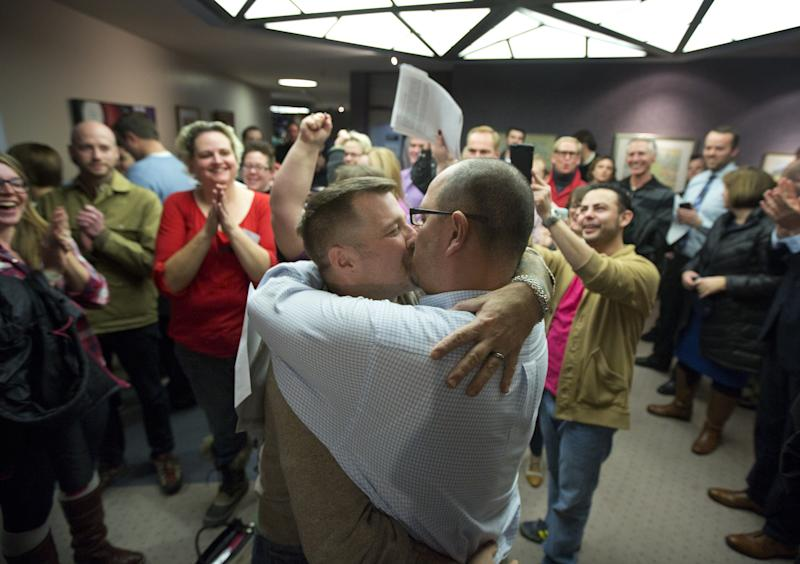 Holdouts in Utah now letting gay couples wed