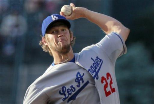 Los Angeles Dodgers starter Clayton Kershaw delivers to a Colorado Rockies batter during the first inning of a baseball game Tuesday, July 2, 2013, in Denver. (AP Photo/Barry Gutierrez)