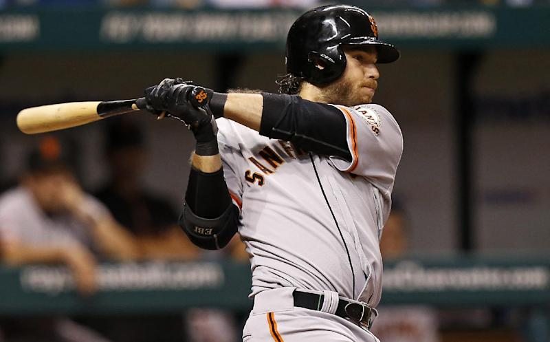 Bumgarner, Crawford lead Giants over Rays