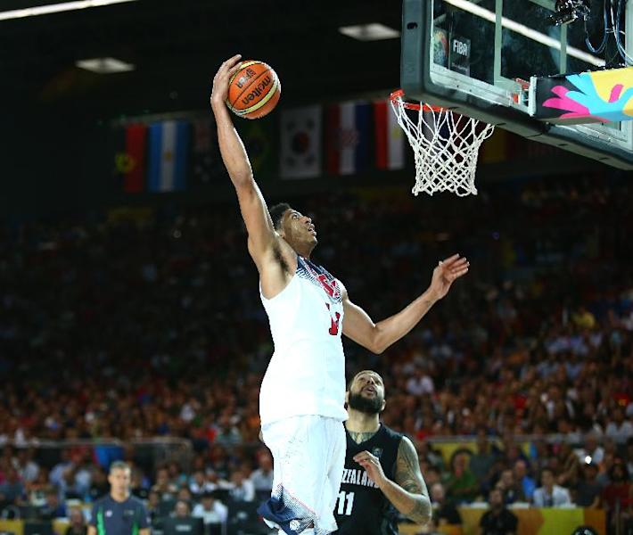 Unbeaten US routs New Zealand 98-71 at worlds