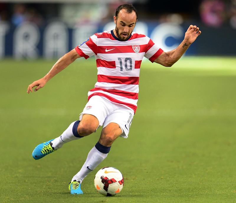 Landon Donovan of the US is pictured July 24, 2013