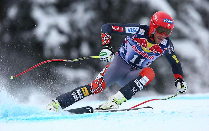 Bode Miller fails to win downhill again in Austria