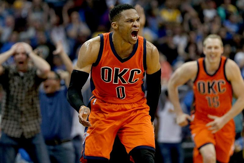 Russell Westbrook breaks Oscar Robertson's record with 42nd triple-double class=