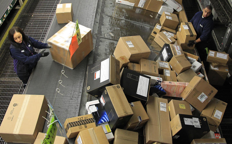 US companies restocked at slower pace in December