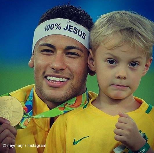 Neymar's sweet message for his son who turned five