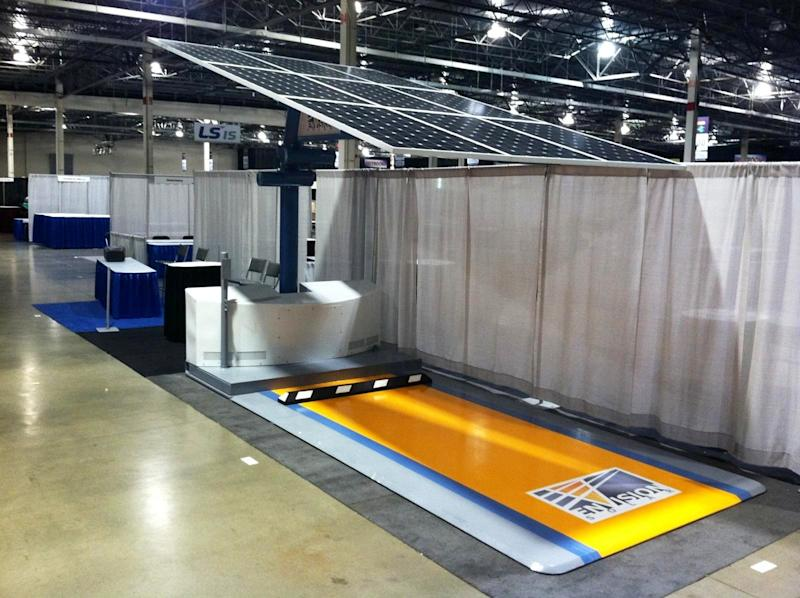 Envision Solar Debuts EV ARC(TM) at the Charging Infrastructure Expo in Detroit, Michigan
