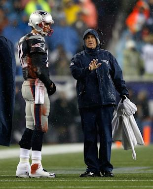 Tom Brady and Bill Belichick (Getty Images)
