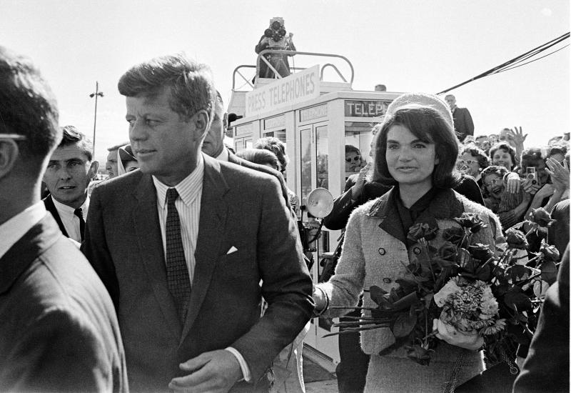 TLC doing film on letters to Jackie Kennedy