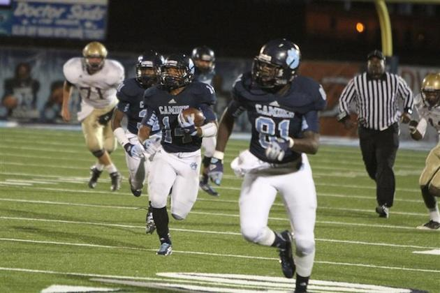 A fortuitous coin flip will allow Camden County to host a playoff game ... saving the school up to $20,000 — CamdenWildcatFootball.com