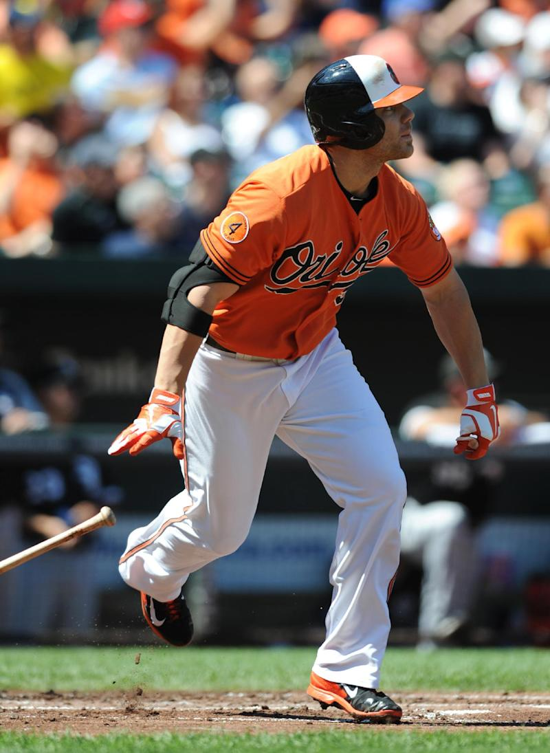 Wieters lifts Orioles over White Sox 4-3