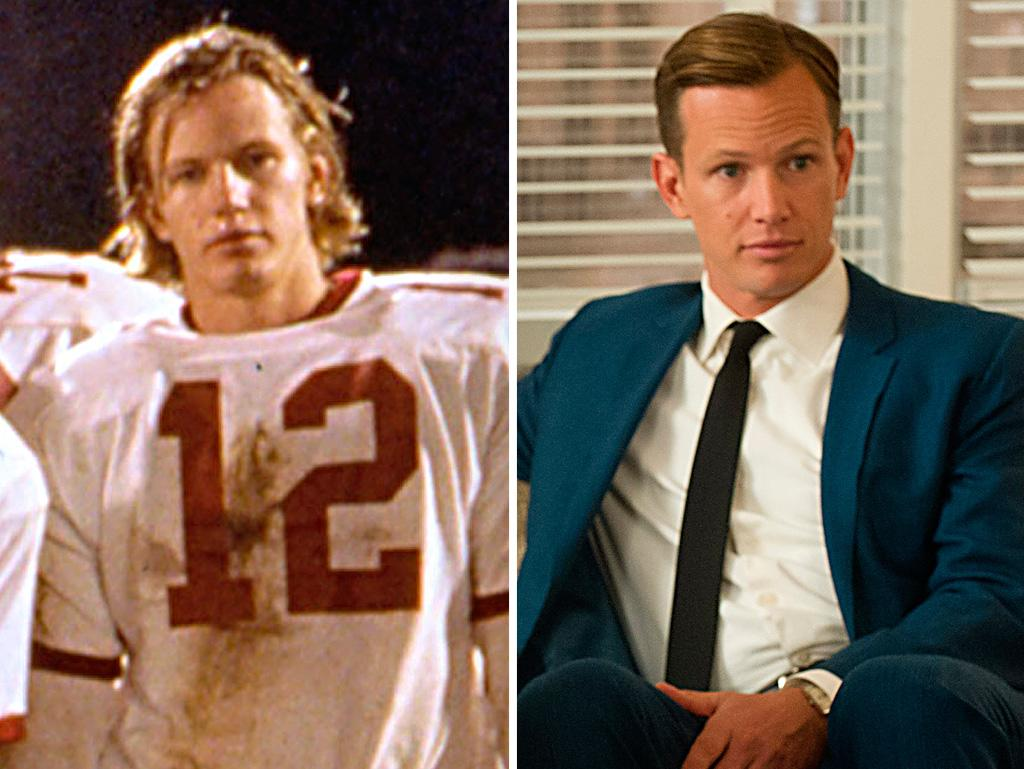 """Remember this Titan? We know Kip Pardue as quarterback Ronnie """"Sunshine"""" Bass from the Denzel Washington sports movie """"Remember the Titans."""" He also appeared on """"ER"""" and """"House"""" before joining """"Mad Men"""" as Heinz executive Tim Jablonski, who gave Don and the firm a shot at the lucrative Heinz ketchup account."""