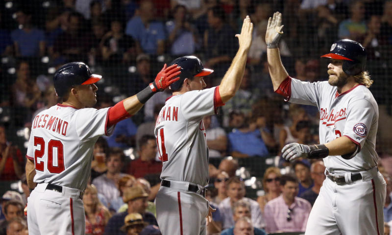 Nationals power past Cubs 11-6