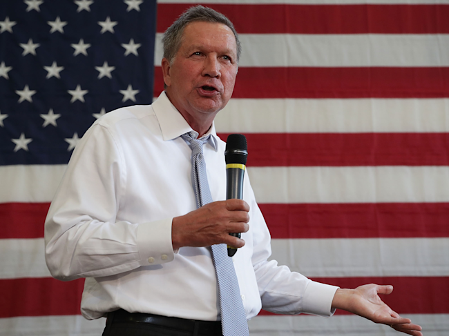John Kasich on North Korea: 'Eradicate the leadership'