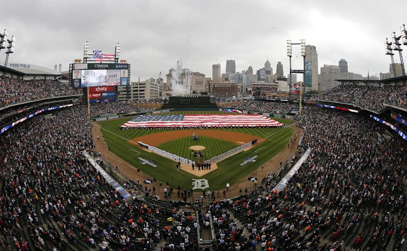 Power went out during Game 3 of ALCS in Detroit