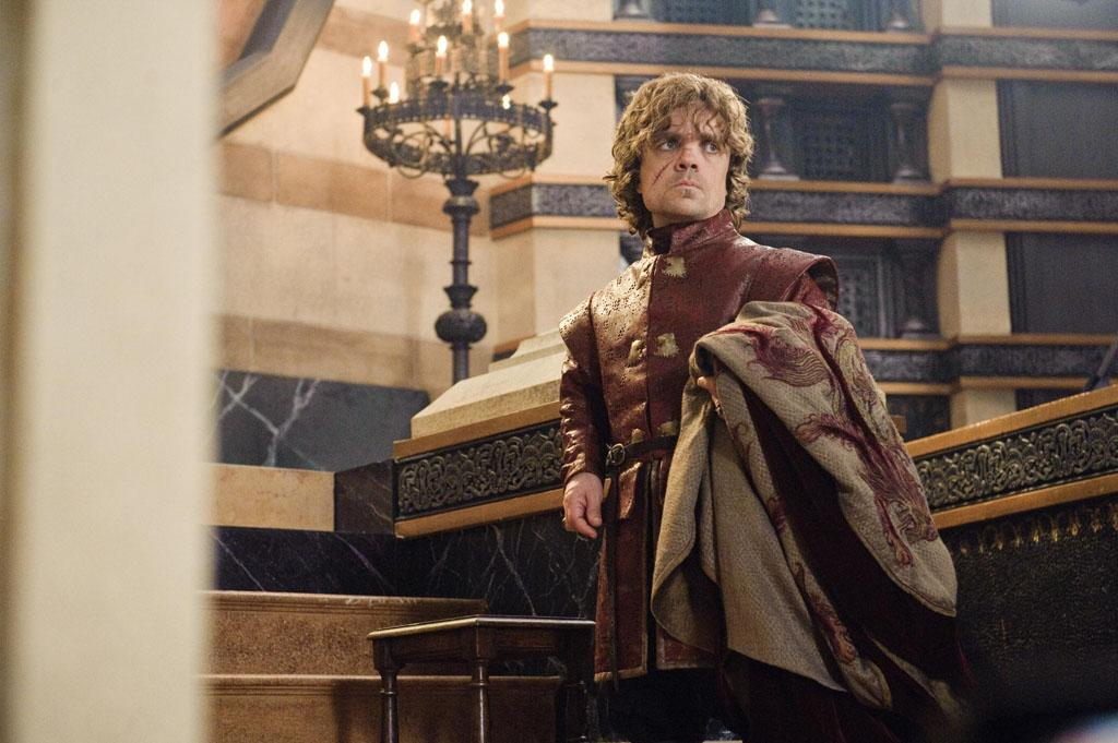 """Peter Dinklage in the """"Game of Thrones"""" episode, """"Second Sons."""""""