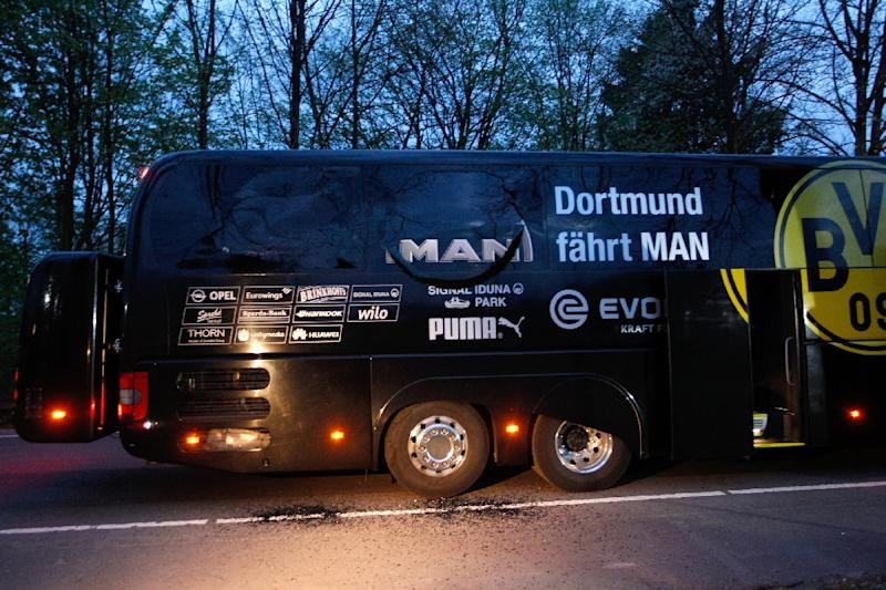 Dortmund bus attack suspect bet against the team