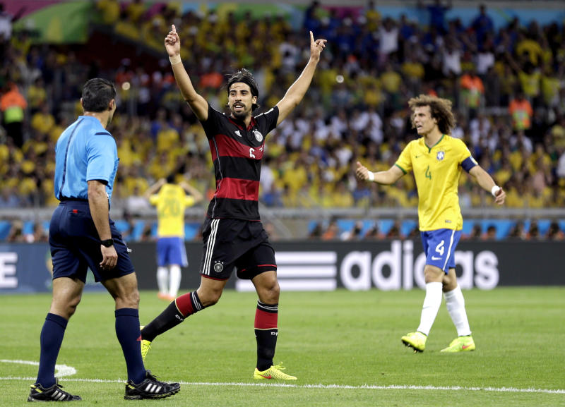 Khedira out of World Cup final, replaced by Kramer