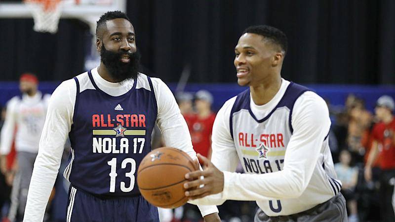 Westbrook, Harden Friendship on Hold During Series