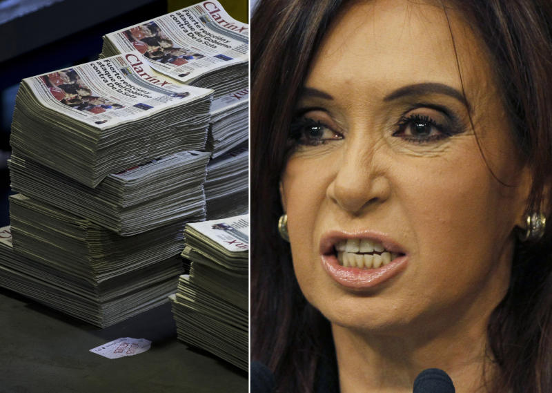 Argentine high court considers media monopoly law