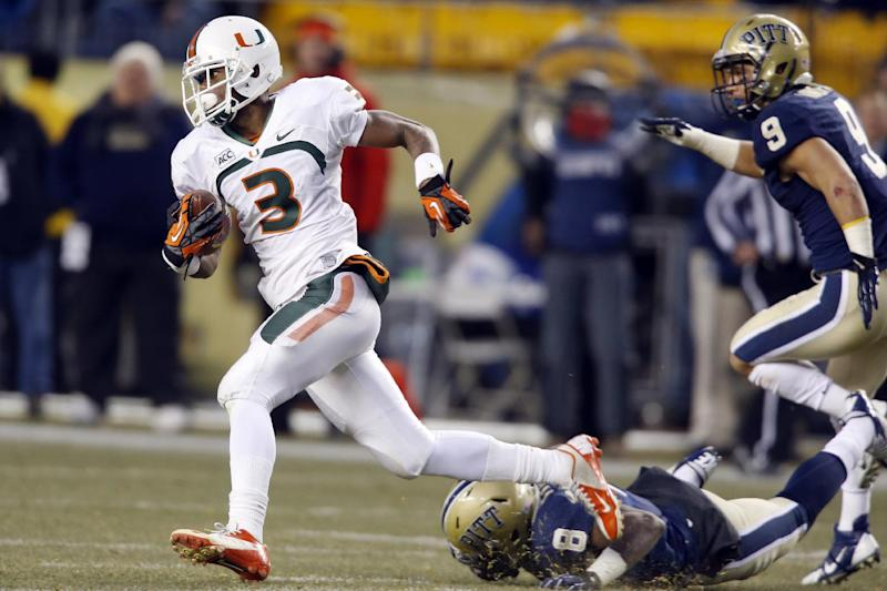 Coley sparks Miami past Pittsburgh 41-31