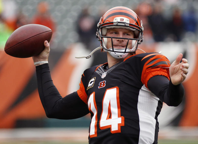 Bengals' Dalton comparing himself with NFL's best