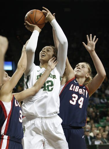 No. 3 Baylor women beat Liberty 92-60