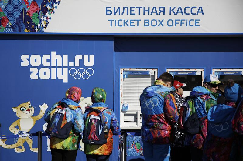 80 percent of Sochi Olympic tickets sold