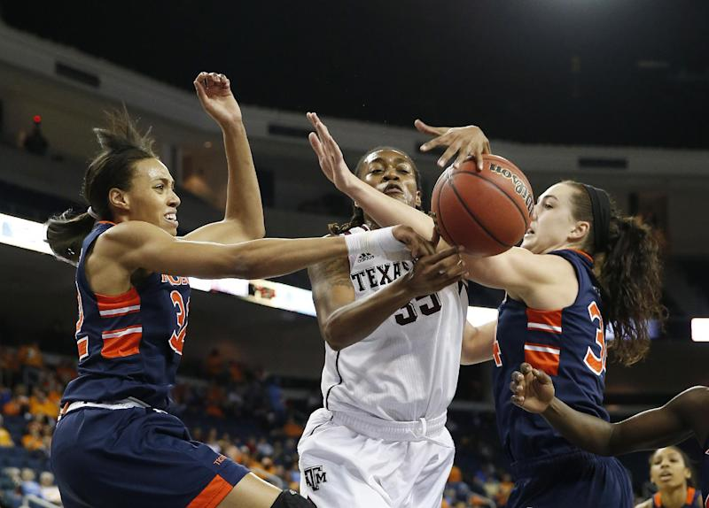 Walker leads No. 15 Texas A&M past Auburn, 86-54