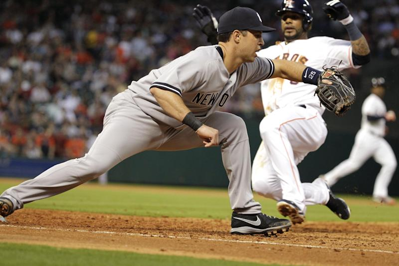 Yankees place 1B Mark Teixeira on 15-day DL