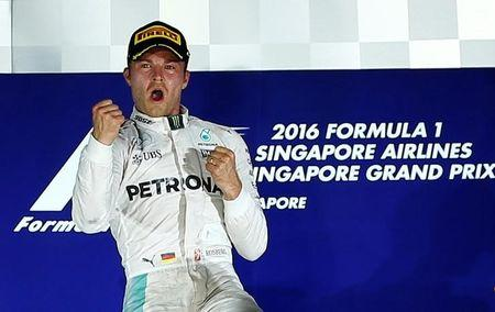 Rosberg back on top after Singapore thriller